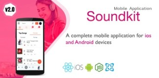 Soundkit Mobile Application for Ios and Android App Source Code