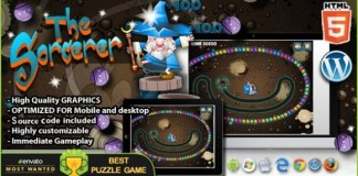The Sorcerer HTML5 Puzzle Game Download