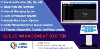 Token Queue Management System Nulled Script