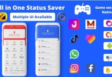 All in One Status Saver Image and Video Downloder App Source Code