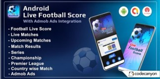 Android Football Live Score App Source Code