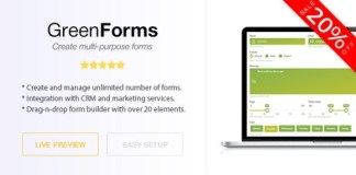 Green Forms Standalone Form Builder Nulled Script