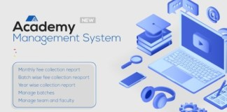 IOMS Institute Education Theme Academy Management System