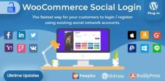 Social Login WordPress and WooCommerce Plugin