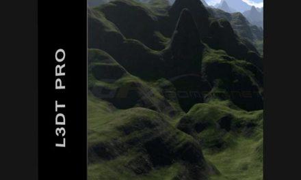 L3DT Pro 16.05 Large 3D Terrain Generator Win x64