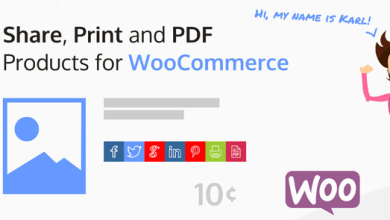 Share, Print and PDF Products for WooCommerce v2.0.2 7
