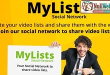 MyLists v1.1 - Your Social Network to share Video Lists 10