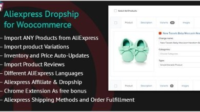 Aliexpress Dropship for Woocommerce v1.4.7