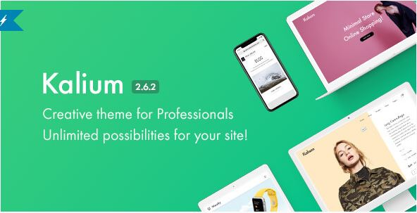 Download Kalium v2.6.2 - Creative Theme for Professionals