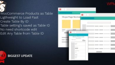Woo Product Table Pro v4.3 - Making Quick Order Table