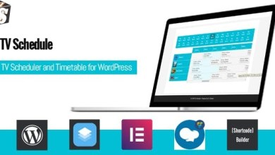 TV Schedule and Timetable for WordPress v1.0 - Plugin 5