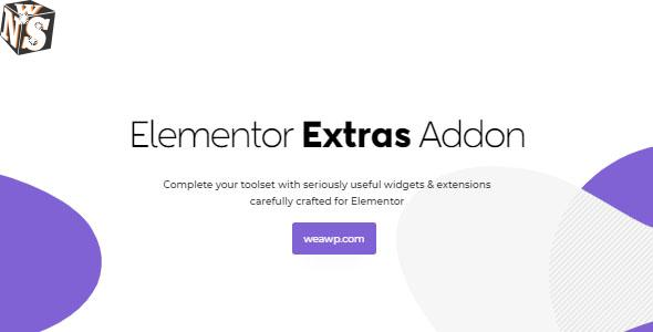 Elementor Extras 2.2.51 Nulled - Addon for Elementor Page Builder 1