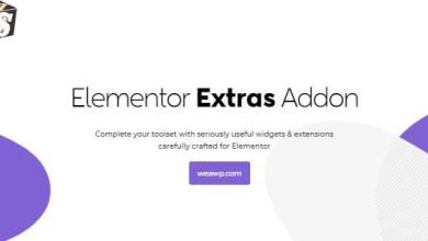 Elementor Extras 2.2.51 Nulled - Addon for Elementor Page Builder 5