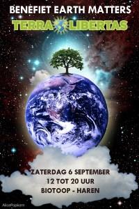 benefiet Earth Matters: Terra Libertas - Haren @ Biotoop  | Haren | Groningen | Nederland
