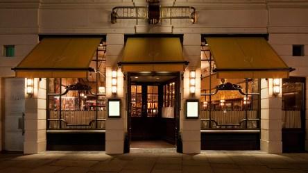 Classic Restaurant Exterior Design