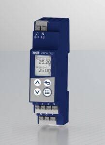 avec le JUMO eTRON T100, une surveillance fiable de la température est également possible dans les trains.