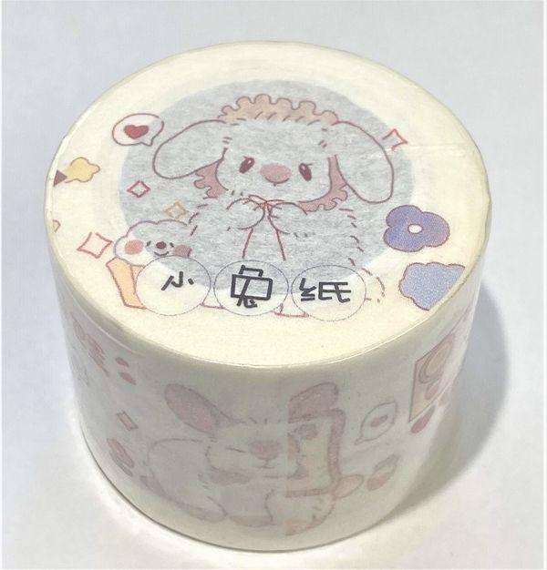 【気泡】小兎紙(特殊油墨・剝離紙付) - マスキングテープ専門店 沼のオアシス