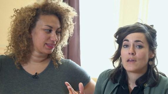 Kadidja Haïdara et Vicky Bounadère