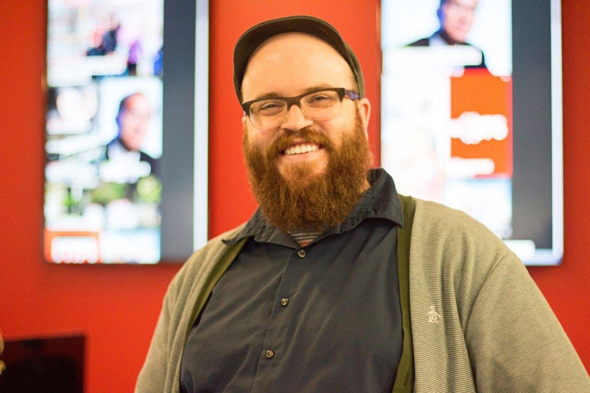 Benoît Dussault, directeur artistique au Journal de Montréal et au Journal de Québec.