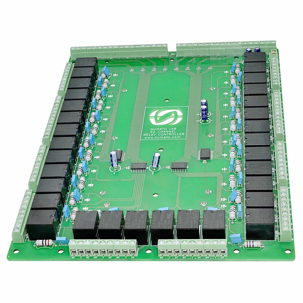 hight resolution of 32 channel relay controller board