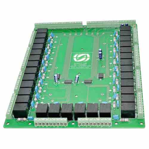 small resolution of 32 channel relay controller board