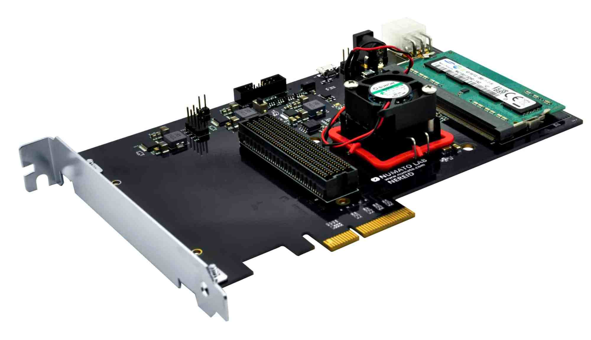 hight resolution of nereid kintex 7 pci express fpga development board