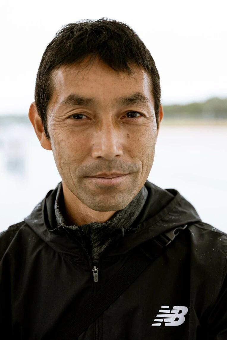 田中希実の父であり、コーチを務める田中健智氏 ©Takeshi Nishimoto / photograph by