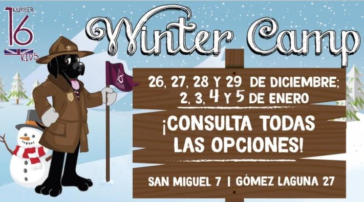 Winter Camp 2017 campamento en inglés en Navidad Number 16 School Zaragoza