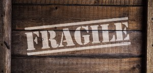 A box that says FRAGILE. What moving supplies are good for packing fragile items?