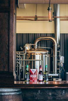 A very, very, very fancy brewery.
