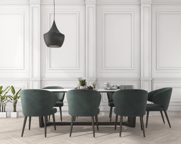 dining room design, dining room concept design in 3D