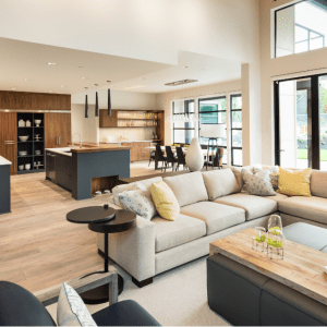 Combined Living & Dining Room