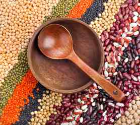 Diet in Blue Zones often includes lentils