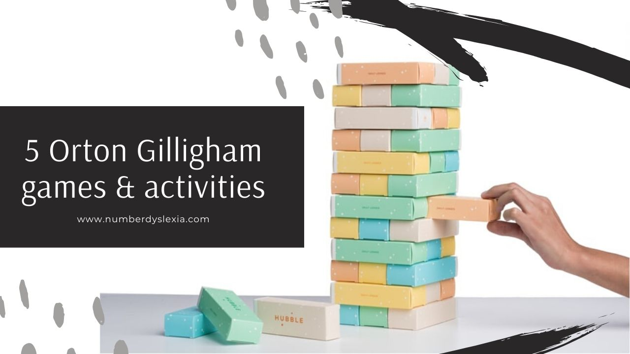 orton gillingham games and activities