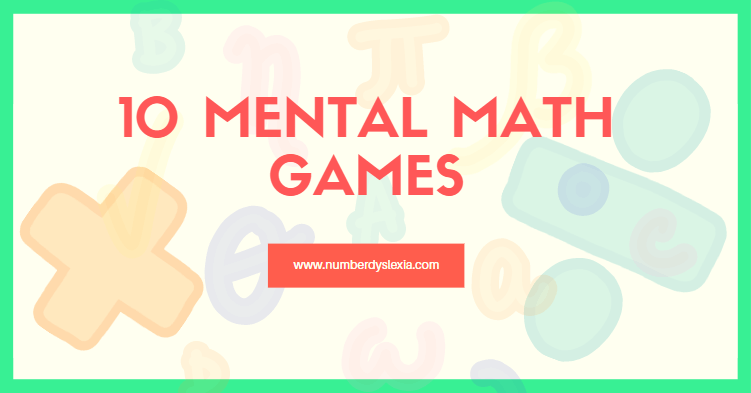 list of mental math games