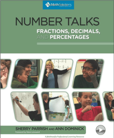 sherry parrish number talks percentages fractions decimals