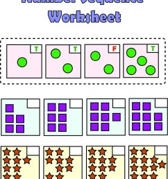 Free Printable Number Sequencing Worksheets PDF - Number Dyslexia [ 1784 x 900 Pixel ]