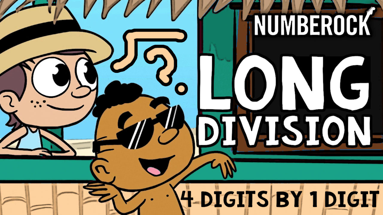 hight resolution of Long Division with Remainders Song with 1 Digit Divisors   NUMBEROCK