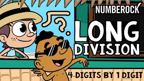 small resolution of Long Division with Remainders Song with 1 Digit Divisors   NUMBEROCK