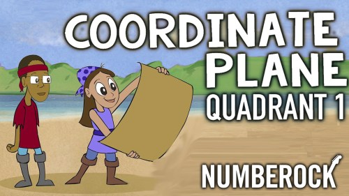 small resolution of Coordinate Plane Song   1st Quadrant Video \u0026 Activities by NUMBEROCK