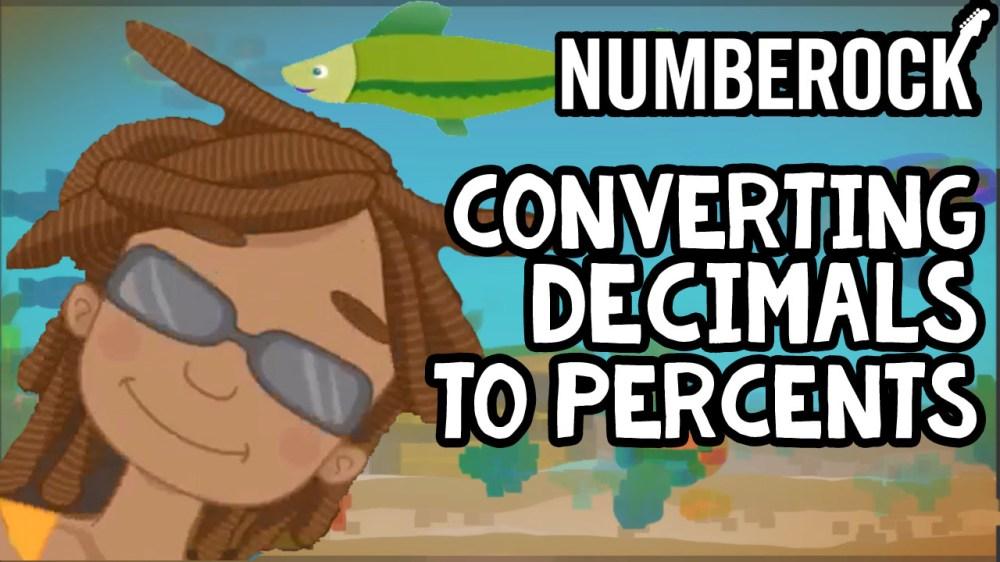 medium resolution of Converting Decimals to Percents Song   NUMBEROCK