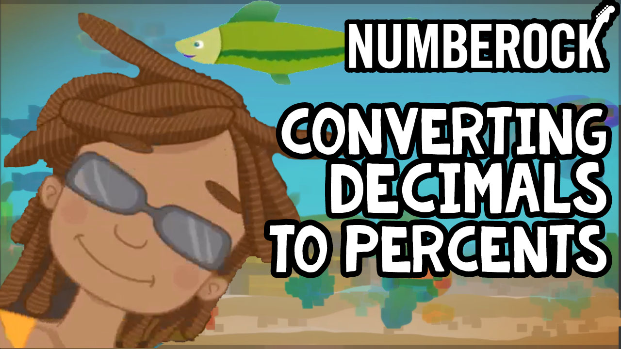 hight resolution of Converting Decimals to Percents Song   NUMBEROCK