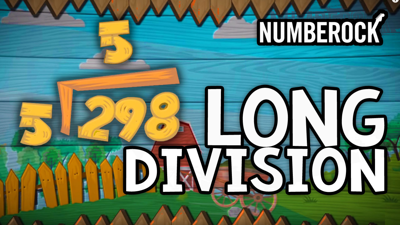hight resolution of Numberock's Long Division Song   Divide