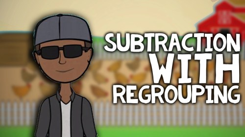 small resolution of Subtraction with Regrouping Song and Activities   2nd Grade Video