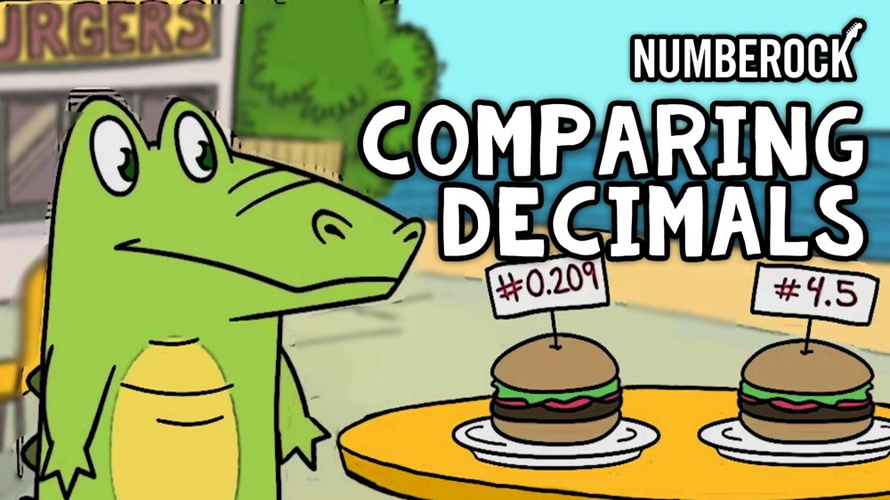 medium resolution of Comparing Decimals Song   Video Lesson by NUMBEROCK