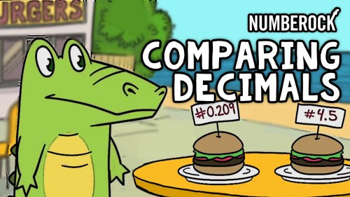 small resolution of Comparing Decimals Song   Video Lesson by NUMBEROCK