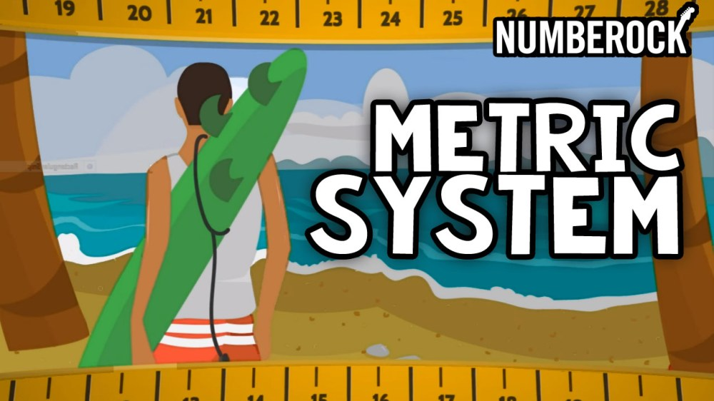 medium resolution of NUMBEROCK Metric System Song   3rd Grade- 4th Grade Measurement