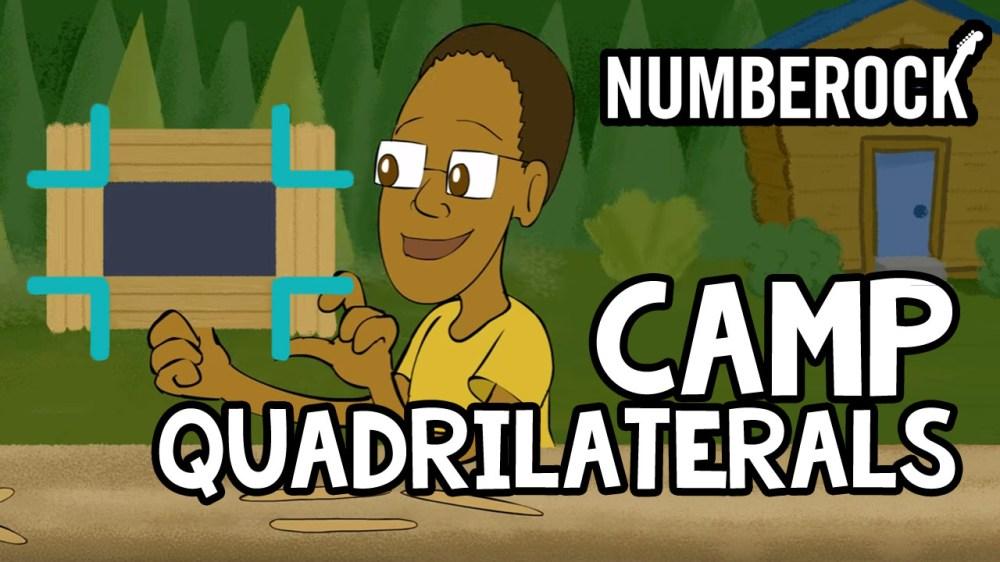 medium resolution of The Quadrilateral Song   Numberock's Types of Quadrilaterals Video