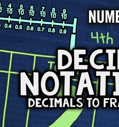 Decimals to Fractions Song   Decimal Notation   4th Grade Math Video [ 1080 x 1920 Pixel ]