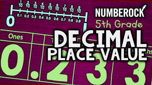 small resolution of Decimal Place Value Song   5th Grade - 6th Grade Math Video